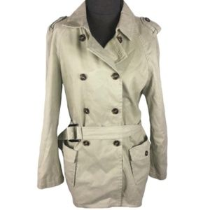 United Colors of Benetton Classic Trench Coat 6